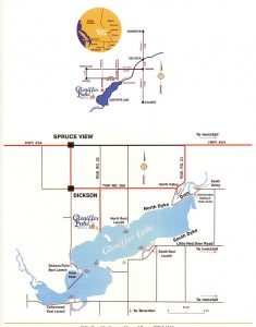 Gleniffer Lake Resort & Country Club - Directions Map